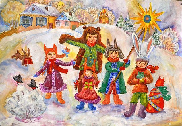 Українські колядки на Різдво - фото 215320