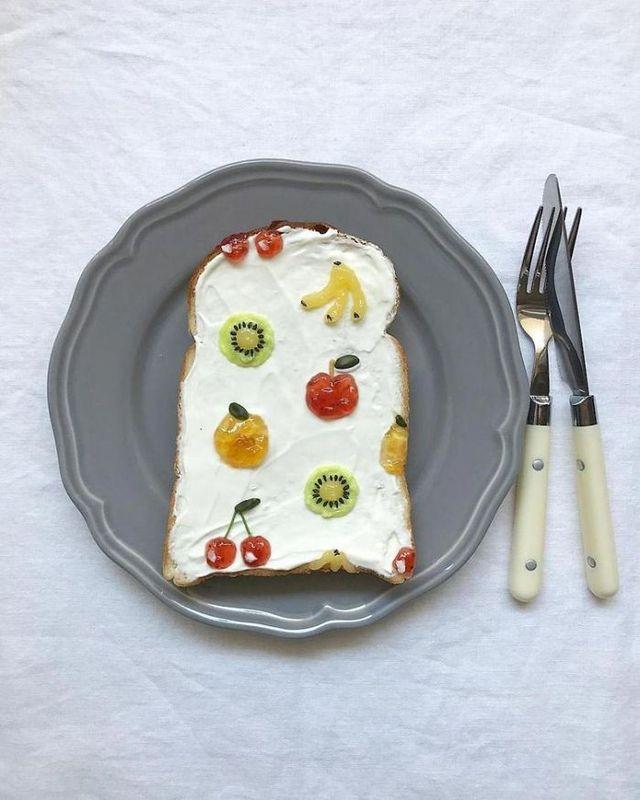 Японка перетворила нудний сніданок у мистецтво: смачні фото - фото 200820