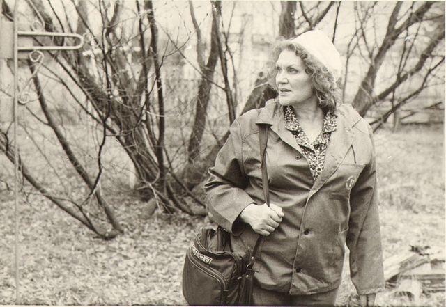 Ліна Костенко в Чорнобилі - фото 233400