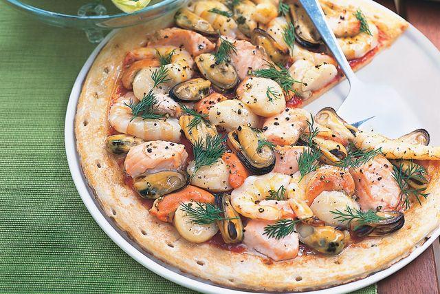 Піца з морепродуктами - фото 232313