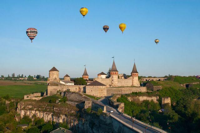 Фестиваль повітряних куль в Кам'янець-Подільському - фото 243103