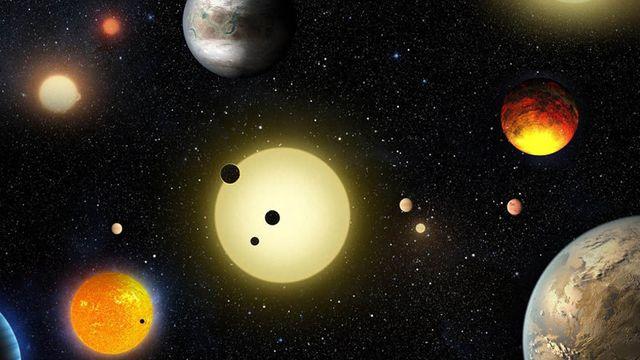 Сонце - порівняно невелика зірка у космосі - фото 239420