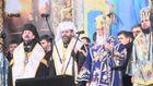 На Михайловской площади молитвой почтили события 30 ноября