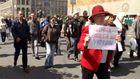 Молчаливый протест в Киеве за 50 гривен