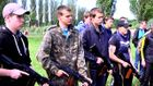 Дніпропетровські школярі проходять військові навчання