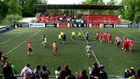 Известны Украинцы сыграли в футбол ради помощи бойцам АТО