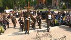 Во Львове похоронили полковника Нацгвардии, погибшего в зоне АТО