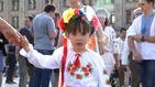 В Киеве состоялся массовый парад вышиванок