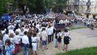 Киевляне вышли на мегамарш вышиванок