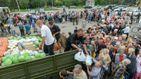 Разом із гуманітаркою Туреччина передала переселенцям російські товари