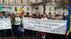 Украинская диаспора по всей Европе поднялась против агрессии России