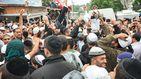Рекордное количество хасидов превратило Умань в огромный фестиваль