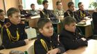 Как воинственная ребятня приняла присягу кадетов в Киеве