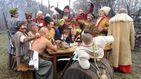 На Киевщине колоритно отпраздновали День казачества