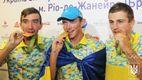 Як в Україні зустріли олімпійських чемпіонів: з'явилися фото та відео