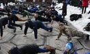 Бійці АТО, чорнобильці та афганці запустили флешмоб, аби допомогти пораненому військовому