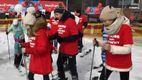 Діти із рідкісними хворобами вперше стали на лижі