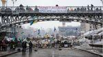 Два роки Майдану: як виглядав центр Києва тоді і зараз