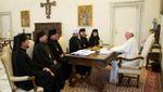 Представники УГКЦ зустрілись з Папою Римським: говорили про агресію Росії