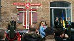 У Києві відкрили пам'ятник білорусам, які віддали життя на Майдані та в АТО