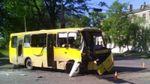 Два автобуси зіткнулись у Маріуполі: багато травмованих