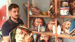Франківський художник створює величну картину захисників України
