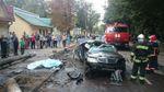 Mercedes майже розірвало навпіл у страшній аварії на Прикарпатті