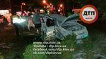Серйозна ДТП з авто поліції в Києві: з'явилося відео моменту зіткнення