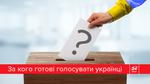 За кого бы вы голосовали на досрочных выборах в Раду? (Опрос)