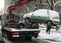 Евакуатор забиратиме авто, які заважатимуть прибирати сніг у Києві