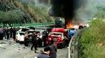Масштабна ДТП з майже 20 авто переросла у пожежу у Китаї, багато жертв