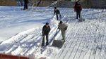 Під сильною вагою снігу обвалився дах будинку на Харківщині