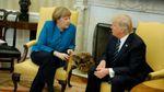 Трамп і Меркель зробили заяви щодо закінчення війни на Донбасі