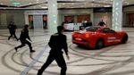 Екс-мер російського міста влаштував перегони прямісінько в торговому центрі