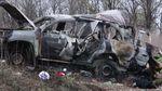 Опубликовано видео с места взрыва машины ОБСЕ на оккупированной Луганщине