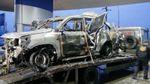 Підрив авто ОБСЄ: в мережі опублікували моторошні фото машини після вибуху