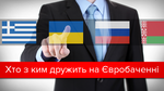 Евровидение: кто давал Украине больше всего баллов за всю историю