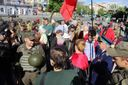 9 травня у Запоріжжі почалось з сутичок: з'явились фото та відео