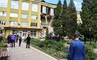 Будівля коледжу обвалилася на Івано-Франківщині