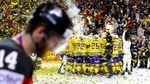 Швеція у феєричному поєдинку обіграла Канаду та стала чемпіоном світу з хокею