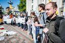 Під Верховною Радою відбулись одразу два протести: активісти озвучили вимоги