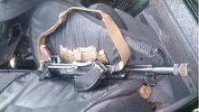 """Джип с оружием задержали в Закарпатье. Водитель представился членом """"Правого сектора"""""""