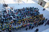 Как празднуют День Соборности Украины в Луганской области