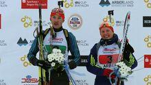 Українські біатлоністи виграли все золото на етапі в німецькому Арбері