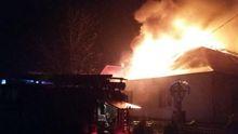 Велика пожежа на  Закарпатті: спалахнув місцевий суд