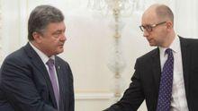 Яценюк кинув виклик Порошенку, — The Financial Times