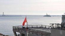 В порт Одессы вошли военные корабли Турции