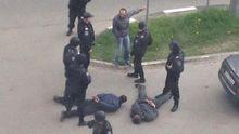 Стрельба вспыхнула возле банка в Харькове