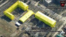 Зафиксирована военная техника боевиков в Горловке: видео аэроразведки