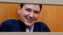Савченко дали заполнить документы на возвращение в Украину, — сестра